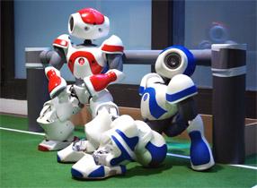 Aldebaran Robotics Nao Robocup 02
