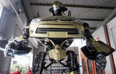 Citroen C4 Transformers #1