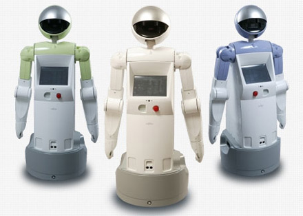 Enon le robot de Fujitsu