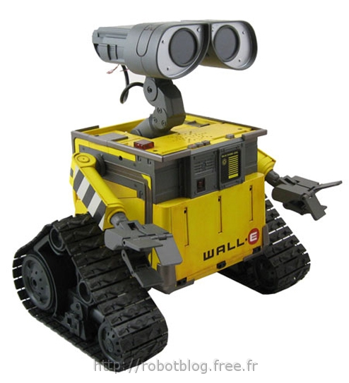 disney va produire un jouet robot ultimate wall e robot blog. Black Bedroom Furniture Sets. Home Design Ideas