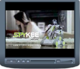 Spykee Robot Meccano Publicité #1