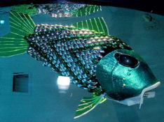 Poisson robot détecter pollution eau Mer #1
