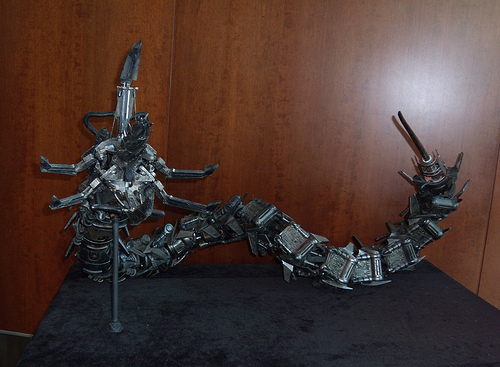 Terminator Salvation Water Robot Serpent #1