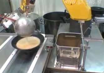 Les robots chefs cuisiniers dans un restaurant japonais for Restaurant japonais chef cuisine devant vous