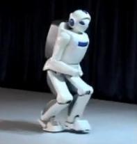 Toyota - Robot Humanoide Qui Court #1