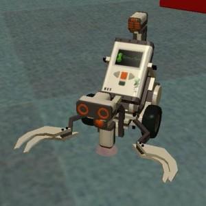SimplySim Robotique - Projet Lego Mindstorm NXT simulé