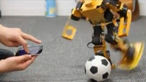 Walky - Application IPod pour Controler un Robot Bipède #1