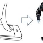 Walky - Application IPod pour Controler un Robot Bipède #2
