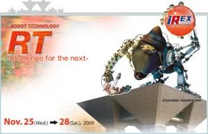 Salon IRex 2009 - 2ème Robot Wednesday: Retour d'Asie