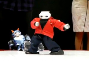 Manoi Go - Robot danseur de Break-Dance #1