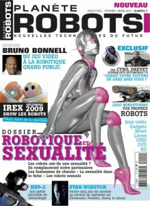 Planète Robots - Couverture - Magazine Robotique No2 #1