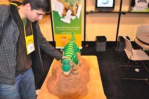 Robot Dinosaure Pleo au CES 2010 #1