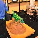 Pleo Robot Dinosaure au CES 2010 #2