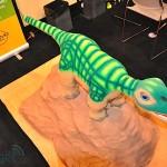 Pleo Robot Dinosaure au CES 2010 #3