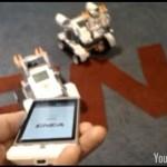Un SmartPhone HTC Hero sous Android pilote un Robot Lego #1
