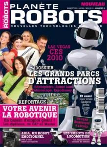 Planète Robots - Couverture du Magazine No 3 #1
