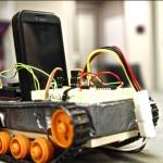 Robot piloté par HTC Android #1