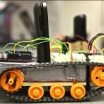 Robot piloté par HTC Android #2