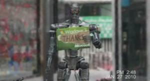 Terminator - Robot - Microsoft vs Apple par Leon Wang #1