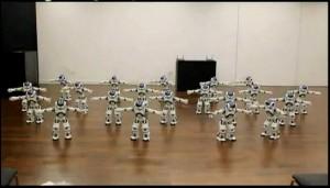 20 Robots Nao dansent sur le Bolero de Ravel - Exposition Shangai 2010 #1