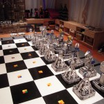 Monster Chess - Jeu  d'échecs robotique en Lego #1