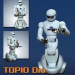 Topio Dio - Robot Serveur de la société Tosy #5