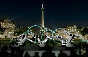Audi - Outrace - Robots au London Design Festival 2010 #1