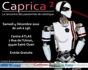 Caprica 2 - 2010 - Evenement Robotique - Association Caliban #1