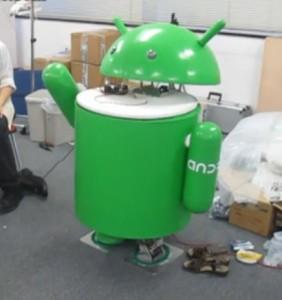 Google Android pour un Robot Androide #1