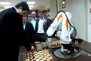 Chess Terminator - Robot qui joue aux Echec #1