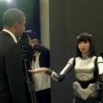 Le Président Obama rencontre des robots japonais #3