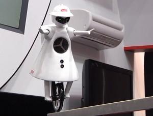 Murata Boy - Robot - CES 2011 #3