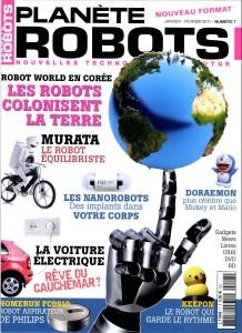 Planete Robots - Couverture du Magazine No7 #1