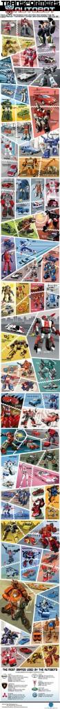 Transformers - Autobot - Infographie des Robots #1