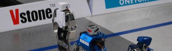 Marathon pour Robots par VStone -Robo Mara Full #1 - bandeau