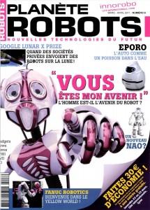 Planete Robots - Couverture du Magazine No8 #1