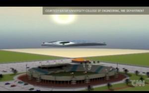 Nuages Robotiques - Coupe du Monde de Football 2022 #1