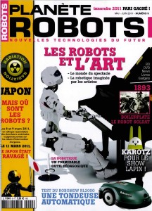 Plante Robots - Couverture du Magazine No9 #1