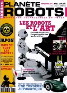 Planète Robots - Couverture du Magazine No9 #1