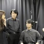 Rencontre des Robots Humanoïdes Geminoïds avec leur modèle #2