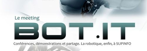Bot.IT - Meeting Robotique - Laboratoire SupInfo - Bandeau #1