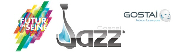 Jazz le Robot de Gostai - Guide au Festival Futur en Seine #1 Bandeau
