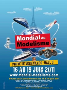 Mondial du Modlisme 2011 - Affiche #1
