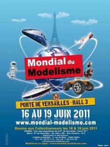 Mondial du Modélisme 2011 - Affiche #1