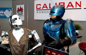 Mondial du Modélisme 2011 - Robot Caliban #1