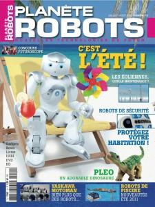 Planète Robots - Couverture du Magazine No10 #1