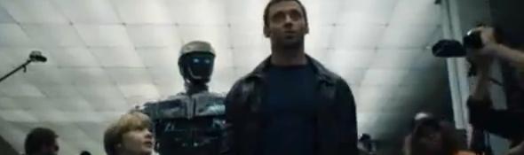 Real Steel - Film - Hugh Jackman et les Robots Boxeurs - Bandeau #2