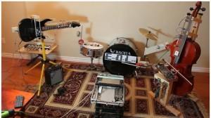 """Le groupe """"End Of Life -EOL- Robot Band"""" joue un titre de Marilyn Manson #1"""