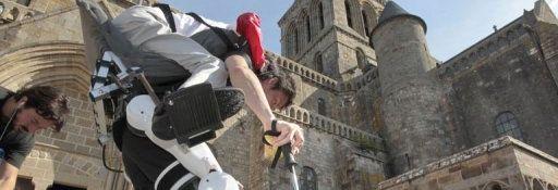 Un Japonais handicapé au Mont-Saint-Michel grace a robot exosquelette #1 Bandeau