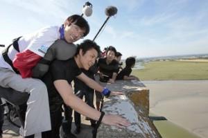 Un Japonais handicapé au Mont-Saint-Michel grace a robot exosquelette #3